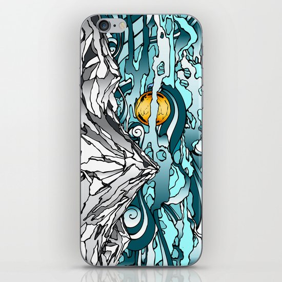 Turquoise Sky iPhone & iPod Skin