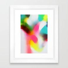 Changing the Rain Framed Art Print