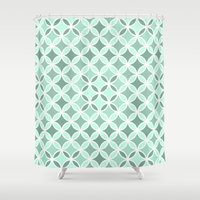 vector Shower Curtains featuring Vector by HelmichDesign