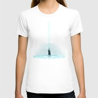tron T-shirts featuring TRON PORTAL by ED13