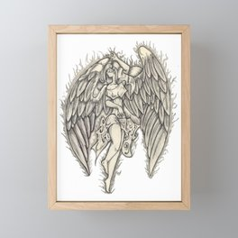 angel Framed Mini Art Print