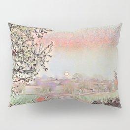 Rising Moon, Setting Sun. Pillow Sham