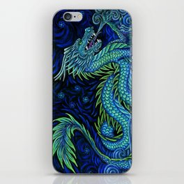 Chinese Azure Dragon iPhone Skin