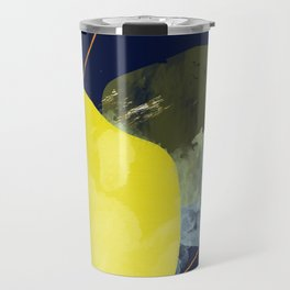 Beach Day 6 Mid-Century Inspired Painting Travel Mug