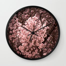 Spring Blossoms - II Wall Clock