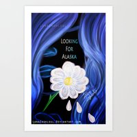looking for alaska Art Prints featuring Looking For Alaska  by Lunah