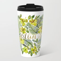 Killin' It – Tropical Yellow Metal Travel Mug