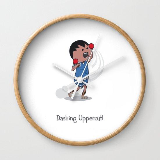 Dashing Uppercut Wall Clock