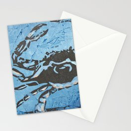 Fresh Blue Crabs Stationery Cards