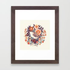Wren Day Framed Art Print