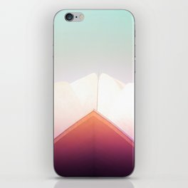 Dreamy Pastels of the Lotus Temple iPhone Skin
