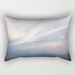 Hazy in the Cape Rectangular Pillow