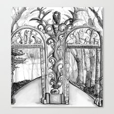 Bronx Zoo: Fordham Road Gate Canvas Print