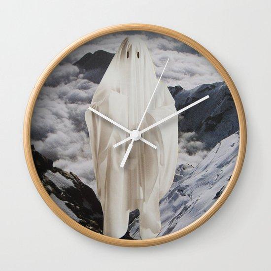 Ghost Wall Clock