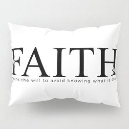 FAITH Pillow Sham