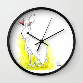 Jack Rabbit Wall Clock