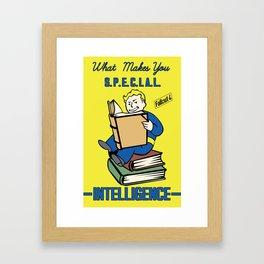 Intelligence S.P.E.C.I.A.L. Fallout 4 Framed Art Print