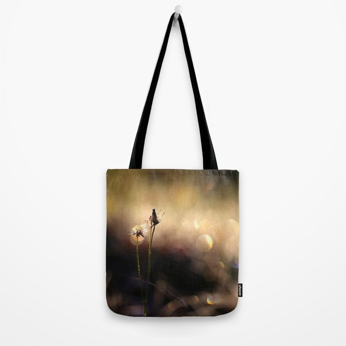Plants together in Nature Light Bokeh #decor #society6 Tote Bag