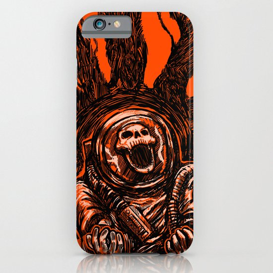 A Spacesuit Has Been Compromised iPhone & iPod Case