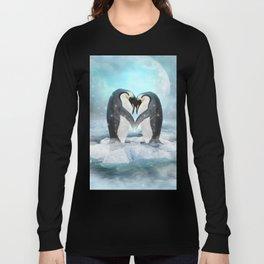 Listen Hard (Penguin Dreams) Long Sleeve T-shirt