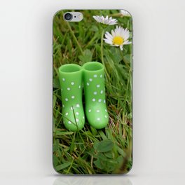 Little boots iPhone Skin