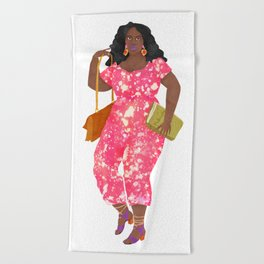 Eurydice Beach Towel