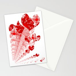 Heart - Red Stationery Cards