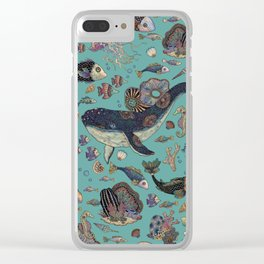 Deep into the ocean Clear iPhone Case