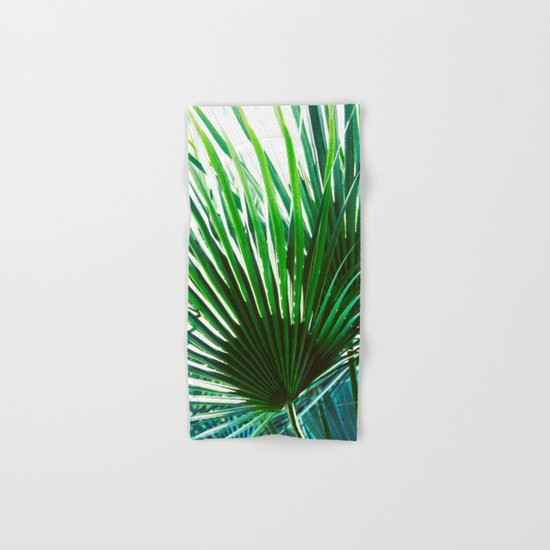 Bright Palm 4 Hand & Bath Towel