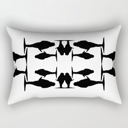 Tiger Lady Register  Rectangular Pillow