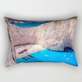 Shipwreck bay Rectangular Pillow