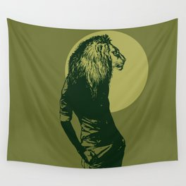leone pistacchio Wall Tapestry