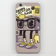 Radio illustration iPhone & iPod Skin