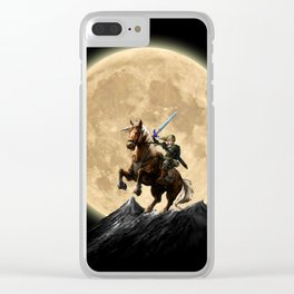 The Legend Of Zelda Full Moon Clear iPhone Case