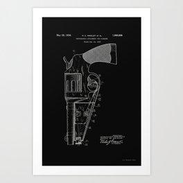 Photographic attachment for firearms Patent - Circa 1934 Art Print