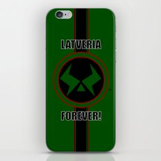 Latveria Forever! iPhone & iPod Skin