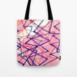 Pink Lightning Summer Fugue Tote Bag