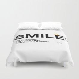 """""""SMILE"""" Duvet Cover"""