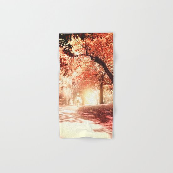 Autumn fall Hand & Bath Towel