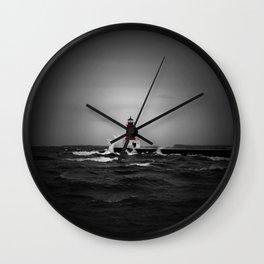 Lighthouse Glow Wall Clock