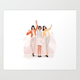 Women power Art Print