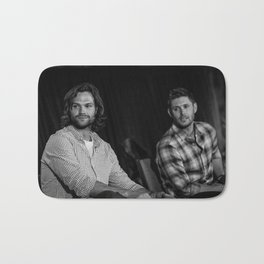 Jared and Jensen | DC con 2014 Bath Mat