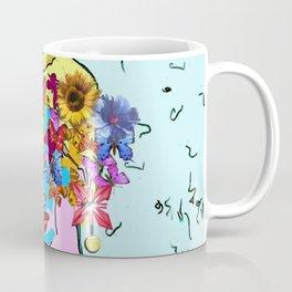 Flowers woman Coffee Mug