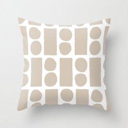 blocky Throw Pillow