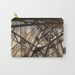 France Photography - Inside Of The Eiffel Tower Carry-All Pouch