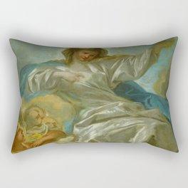 """François Boucher """"The Assumption (study)"""" Rectangular Pillow"""