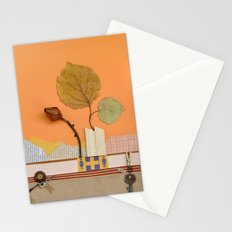 The rose of autumn Stationery Cards