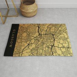Glasgow map Rug