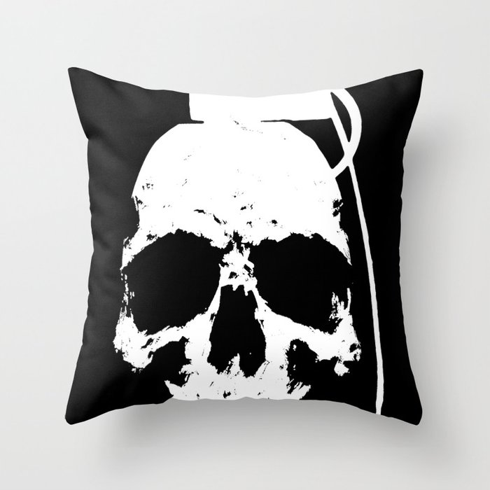 The Downfall Throw Pillow