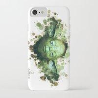 yoda iPhone & iPod Cases featuring Yoda by Rene Alberto